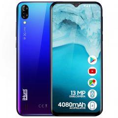 Telefon mobil iHunt Alien X Lite 2020, 3G, Ecran 6.1-inch HD curbat 2.5D, DualCamera 13MP, Baterie 4080mAh, 16GB, Android 8.1 GO, Blue