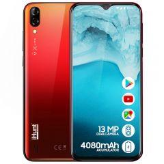 """Telefon mobil iHunt Alien X Lite 2020, Ecran 6.1"""" HD curbat 2.5D, 16GB, 4080mAh, 13MP DualCamera, RO-ALERT Activ, Android 8.1 GO, Red"""