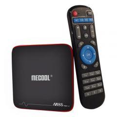 Mini PC Android TV Box Mecool M8S PRO W + Telecomanda, Amlogic S905W Quad-core 64-bit, 2GB RAM, 16GB ROM, Android 7.1