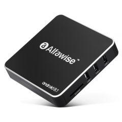 Mini PC Android TV Box Alfawise A8 + Telecomanda, Rockchip 3229 Quad Core, 2GB RAM, 16GB ROM, Android 8.1