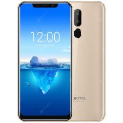 """Telefon Mobil Oukitel C12 Pro Auriu 6.18"""" 19:9 Android 8.1 Mobile Phone MT6739 Quad Core 2G RAM 16G ROM Fingerprint 4G 3300mAh"""