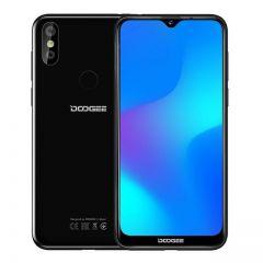 Telefon Mobil DOOGEE Y8 BLACK Android 9.0 FDD LTE 6.1inch 19:9 MTK6739 3GB RAM 16GB ROM 3400mAh Dual SIM 8.0MP