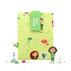 Boc n Roll Kids Forest Ambalaj reutilizabil pentru sandwich
