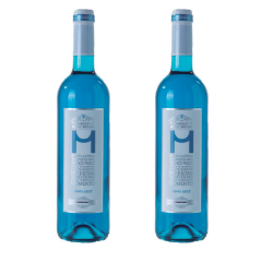 Vin albastru Azul Alcantara Chardonnay, Bautura pe baza de vin, set doua sticle de 750ml