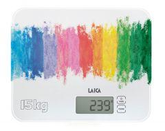 Cantar electronic de bucatarie Laica KS4015, capacitate 15 kg