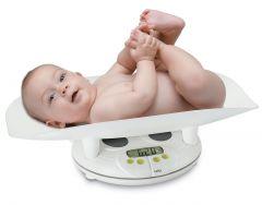 Cantar pentru bebelusi Laica PS3004, diviziune de 10g, capacitate 20 kg