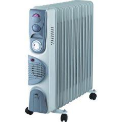 Calorifer electric cu ulei NEO OR-2013FT, 2500W, 13 elementi, 3 trepte de putere, Turbo Ventilatie, Timer, Termostat