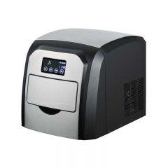 Aparat de facut gheata Finlux FCM-15TD, 150W, 10 kg / 24 h, display LCD, Inox