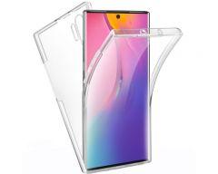 Husa 360 Grade Full Cover Silicon si Tpu Samsung Galaxy Note 10 Plus  Transparenta