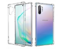 Husa Premium Upzz  Anti-shock Tpu Silicon Crystal Clear Samsung Galaxy Note 10+ Plus Transparenta