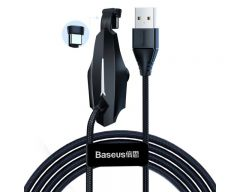 Cablu De Date Baseus Type-c 2A, 2M pentru gameri Negru CATXA-B01