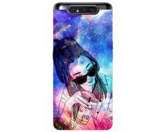 Husa Premium Upzz Print Samsung Galaxy A80 Model Universe Girl