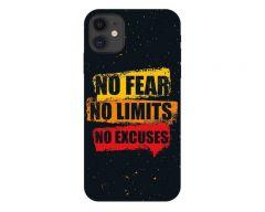 Husa Premium Upzz Print iPhone 11 Model No Fear