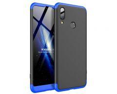 Husa 360 Grade Upzz Protection Huawei P20 Lite Negru-albastru