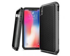 Husa Spate Premium Originala X-doria Lux Carbon iPhone Xs Max