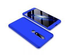 Husa 360 Grade Upzz Protection Nokia 6.1 2018 Albastru