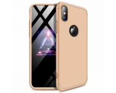 Husa 360 Grade Upzz Protection iPhone Xs Max Gold