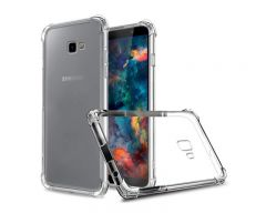 Husa Premium Upzz  Anti-shock Tpu Silicon Crystal Clear Samsung J4+ Plus 2018  Transparenta