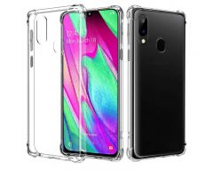 Husa Premium Upzz  Anti-shock Tpu Silicon Crystal Clear Samsung Galaxy A40 Transparenta