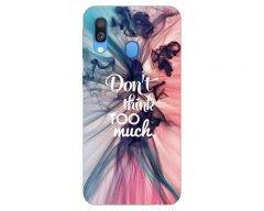 Husa Silicon Soft Upzz Print Huawei Samsung Galaxy A20e  Model Motto