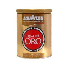 Cafea Lavazza Qualita Oro macinata 250gr cutie metalica