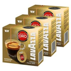 Set capsule Lavazza A Modo Mio Qualita Oro, 3 x 12 capsule, 270 grame