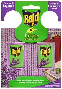 Pastile gel anti-molii Raid lavanda 2buc