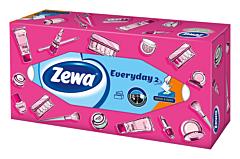 Servetele faciale Zewa Everyday, 2 straturi, 100 bucati