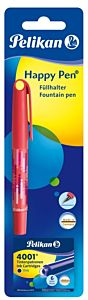 Stilou Happy Pen + 6 patroane mici, Herlitz