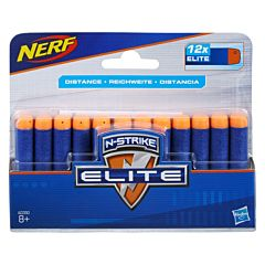 Munitie 12 cartuse Elite, Nerf