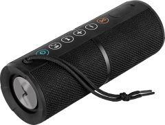 Boxa portabila Bluetooth ECG BTS K1 Black ELYSIUM , rezistenta la apa IPX6, 2 x 4,5W, DSP