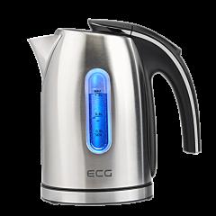 Cana electrica fierbator ECG RK 1240, 1630 W, 1,2 L, otel inoxidabil