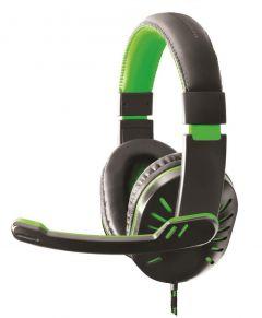 Casti Advanced Gaming CROW EGH330R , Hi-Fi sound, perne soft, cu microfon si volum control