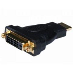 Adaptor Nelbo HDMI la DVI-I (24+1), tip tata-mama ecranat de calitate superioara