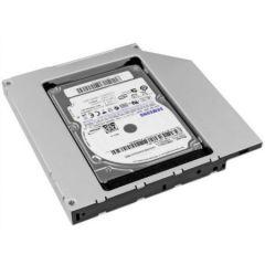 Rack HDD Caddy SATA Nelbo HDD/SSD pentru montarea unui al 2-lea HDD / SSD in laptop 12.5mm RETAIL