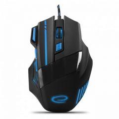 Mouse gaming cu fir, pentru jucatori incepatori si experimentati, WOLF, 7 butoane BLUE