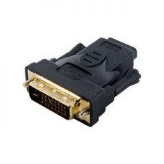 Adaptor Nelbo DVI (24+1) la HDMI, tip tata-mama ecranat de calitate superioara