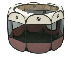Tarc pliabil pentru caini si pisici, 91x91x58 cm
