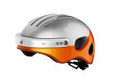 Casca inteligenta Airwheel C5, inregistrare video, conectare Bluetooth, Wi-Fi Orange AIRWHEEL