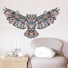Sticker perete Magical owl 78 x 45 cm