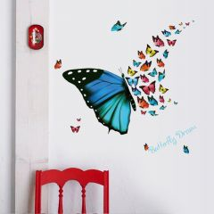 Sticker perete Magic butterfly 30x60cm