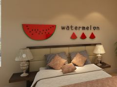 Sticker acrilic 3D Watermelon 36x180 cm