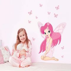 Sticker perete Pink Fairy