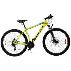 """Bicicleta mountainbike Omega Thomas 27.5"""", cadru 49cm, galben 2019"""