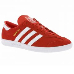 Pantofi sport barbati Adidas Originals HAMBURG rosu,