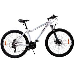 "Bicicleta mountainbike dama Omega Camille 27.5"", cadru 44cm, alb 2019"