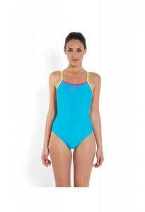 Costum de baie Speedo pentru femei thistrap muscleback portocaliu/turcoaz