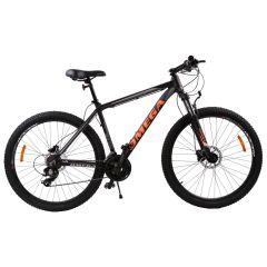 """Bicicleta mountainbike Omega Duke 27.5"""", cadru 49cm, 2019 negru/rosu/albastru"""