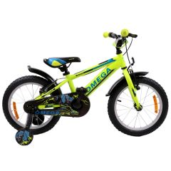 "Bicicleta copii Omega Master 16"" galben 2019"