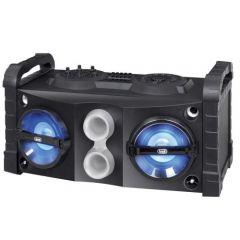Boxa cu Bluetooth si functie Karaoke, Trevi 50 W, FM, Mp3, USB